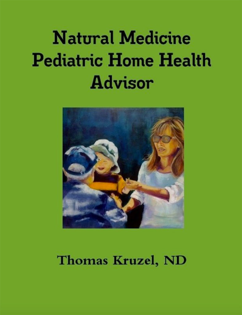 Natural Medicine Pediatric Home Health Advisor book cover