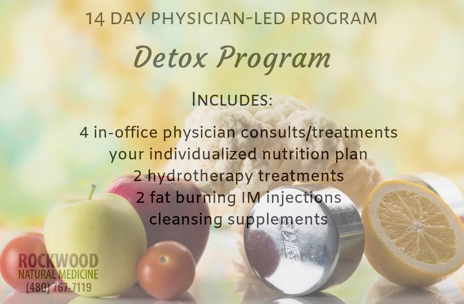Detox program graphic